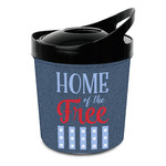 American Quotes Plastic Ice Bucket (Personalized)