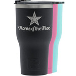 American Quotes RTIC Tumbler - Black (Personalized)