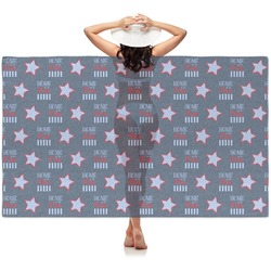 American Quotes Sheer Sarong (Personalized)