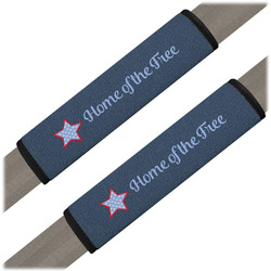 American Quotes Seat Belt Covers (Set of 2) (Personalized)