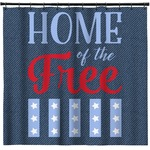 American Quotes Shower Curtain (Personalized)