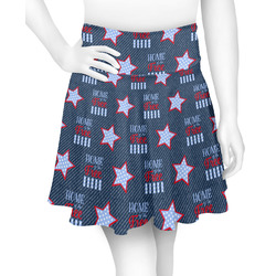 American Quotes Skater Skirt (Personalized)
