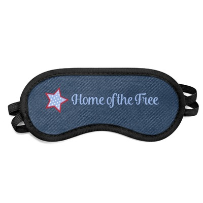 American Quotes Sleeping Eye Mask (Personalized)