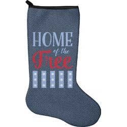 American Quotes Holiday Stocking - Neoprene