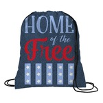 American Quotes Drawstring Backpack (Personalized)