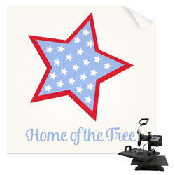 American Quotes Sublimation Transfer (Personalized)