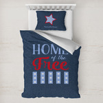 American Quotes Toddler Bedding