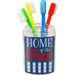 American Quotes Toothbrush Holder (Personalized)
