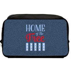 American Quotes Toiletry Bag / Dopp Kit (Personalized)