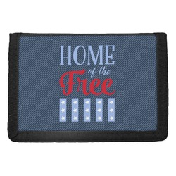 American Quotes Trifold Wallet (Personalized)