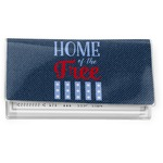 American Quotes Vinyl Checkbook Cover (Personalized)