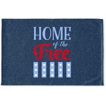 American Quotes Woven Mat (Personalized)