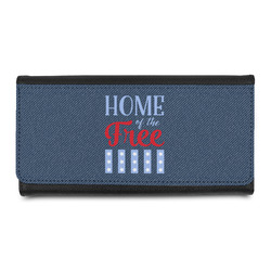 American Quotes Leatherette Ladies Wallet (Personalized)