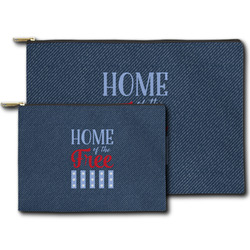 American Quotes Zipper Pouch (Personalized)
