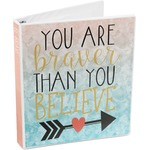 Inspirational Quotes 3-Ring Binder (Personalized)