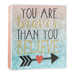 Inspirational Quotes 3-Ring Binder - 1 inch