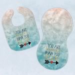 Inspirational Quotes Baby Bib & Burp Set