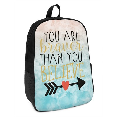 Inspirational Quotes Kids Backpack