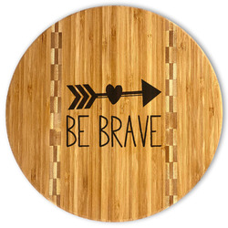 Inspirational Quotes Bamboo Cutting Board