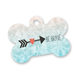 Inspirational Quotes Bone Shaped Dog Tag (Personalized)