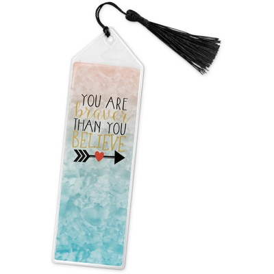 Inspirational Quotes Book Mark w/Tassel