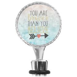 Inspirational Quotes Wine Bottle Stopper (Personalized)