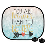 Inspirational Quotes Car Side Window Sun Shade