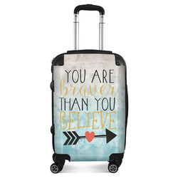 Inspirational Quotes Suitcase (Personalized)