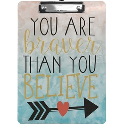 Inspirational Quotes Clipboard (Personalized)