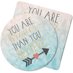 Inspirational Quotes Rubber Backed Coaster