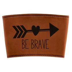 Inspirational Quotes Leatherette Cup Sleeve