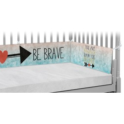 Inspirational Quotes Crib Bumper Pads (Personalized)