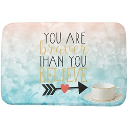 Inspirational Quotes Dish Drying Mat (Personalized)