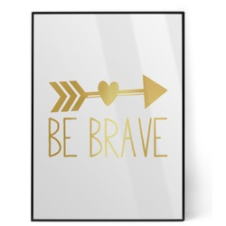 Inspirational Quotes Foil Print (Personalized)