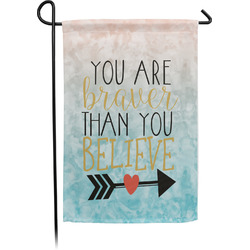 Inspirational Quotes Garden Flag - Single or Double Sided