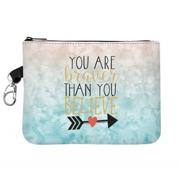 Inspirational Quotes Zip ID Case