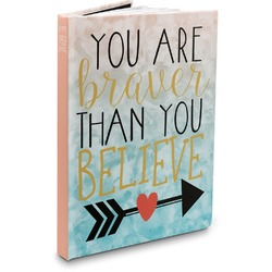 Inspirational Quotes Hardbound Journal (Personalized)
