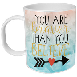 Inspirational Quotes Plastic Kids Mug (Personalized)