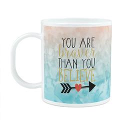Inspirational Quotes Plastic Kids Mug (Personalized)