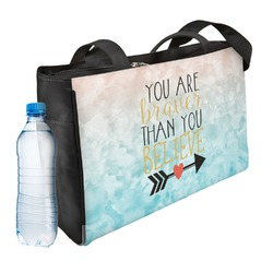 Inspirational Quotes Ladies Workout Bag (Personalized)
