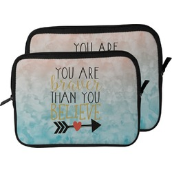 Inspirational Quotes Laptop Sleeve / Case (Personalized)