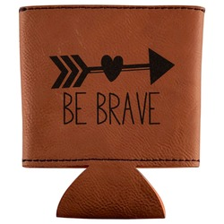Inspirational Quotes Leatherette Can Sleeve (Personalized)
