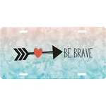 Inspirational Quotes Front License Plate