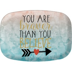 Inspirational Quotes Melamine Platter (Personalized)
