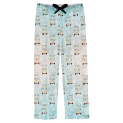 Inspirational Quotes Mens Pajama Pants (Personalized)