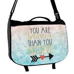 Inspirational Quotes Messenger Bag (Personalized)