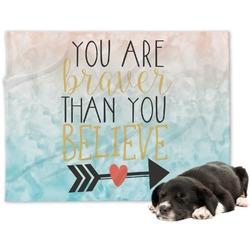 Inspirational Quotes Dog Blanket