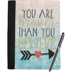 Inspirational Quotes Notebook Padfolio (Personalized)