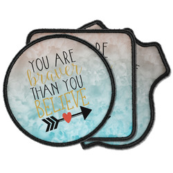Inspirational Quotes Iron on Patches