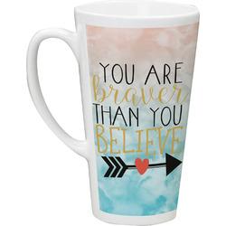 Inspirational Quotes Latte Mug (Personalized)